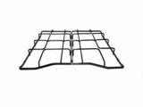 Kit 2 griglie Rex Zanussi Aeg Electrolux in ferro smaltato lucido nero per cucina piano cottura a gas