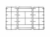 Franke Kit 3 Griglie per cucina piano cottura 5 fuochi